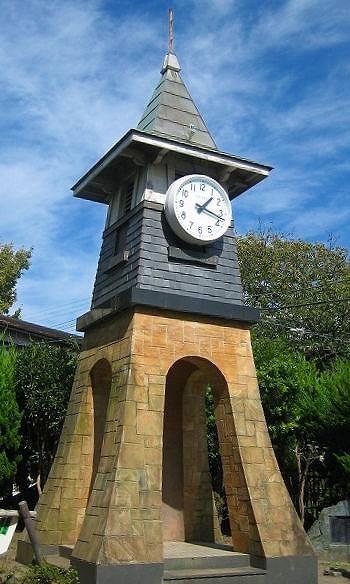 070925公園の時計塔