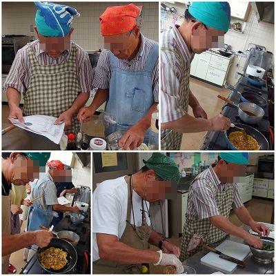 140823男の料理教室