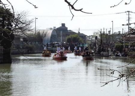 柳川水上パレード 097