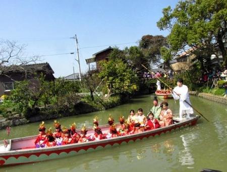 柳川水上パレード 128