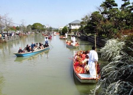 柳川水上パレード 121