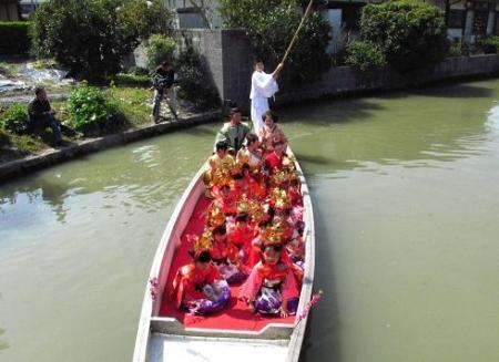柳川水上パレード 111