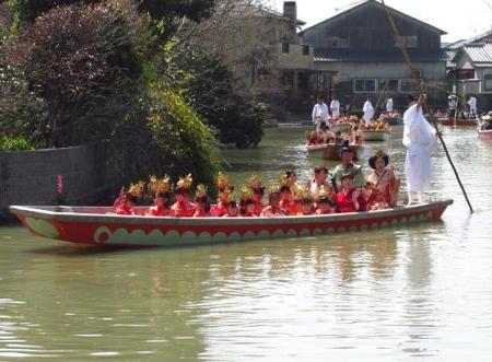 柳川水上パレード 108