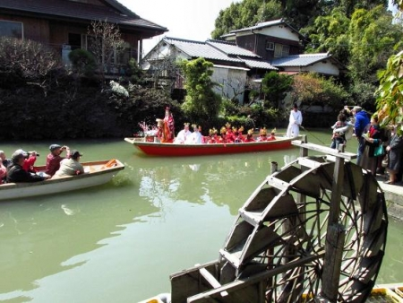 柳川水上パレード 137