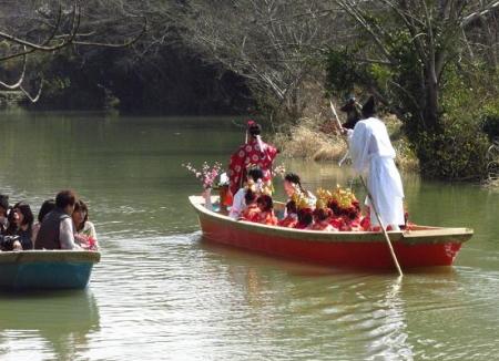 柳川水上パレード 134