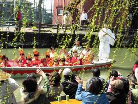 柳川水上パレード 131