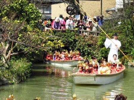柳川水上パレード 130
