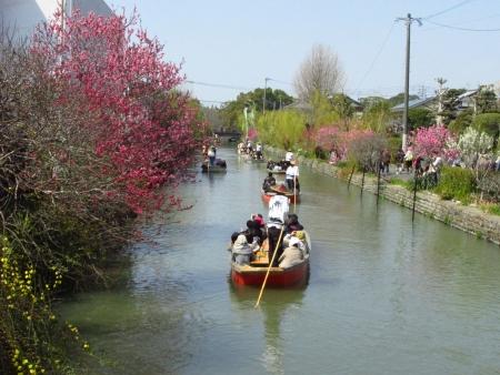 柳川水上パレード 163