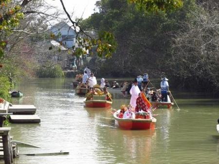 柳川水上パレード 089