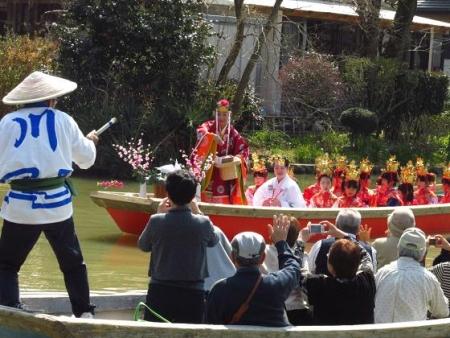 柳川水上パレード 105