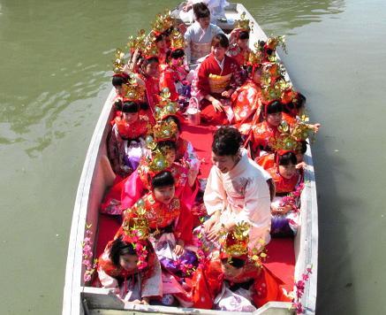 柳川水上パレード 114