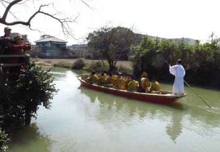柳川水上パレード 133