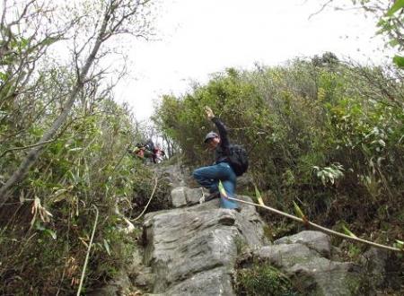 釈迦岳山開き 167