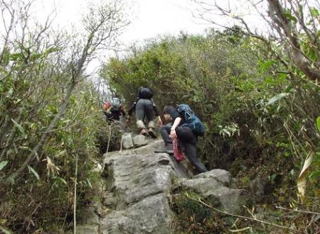 釈迦岳山開き 165
