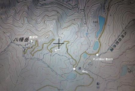 地図女山八幡岳 059