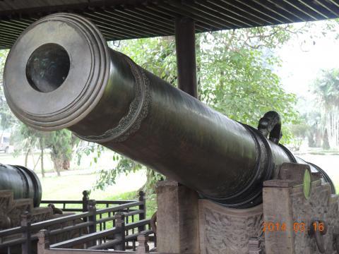 青銅の大砲