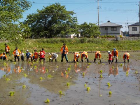 立鉾神社お田植え祭り 4