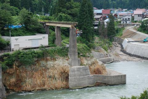 只見川の鉄橋