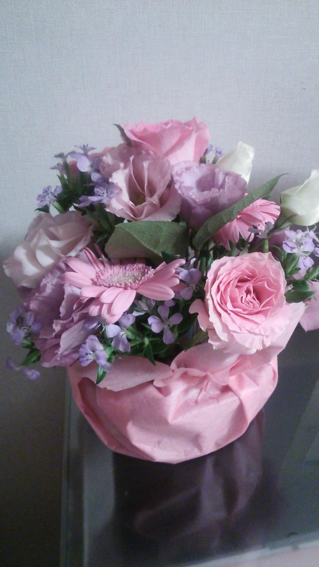 産休のお花