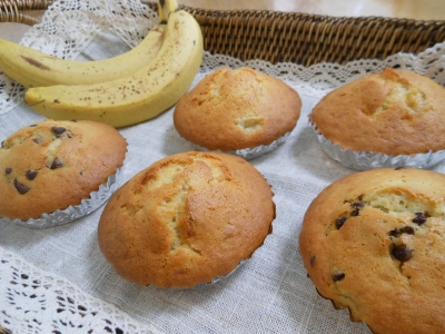 P_バナナケーキ