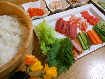 U_手巻き寿司