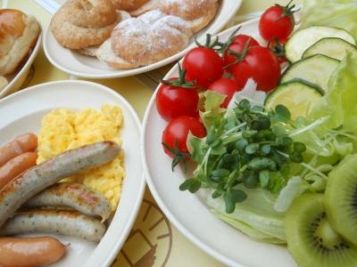 N_キャンプ朝食