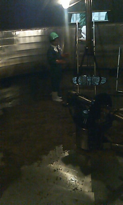 糖化槽の掃除