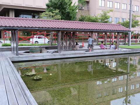 加賀片山津温泉街湯