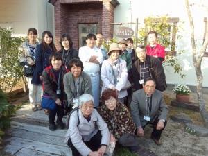 白石長利さん記念写真