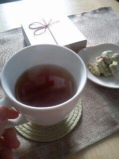 紅茶とともに思い出にひたりませんか