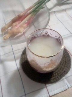 ショウガの甘酒 谷中生姜