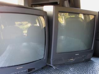 ブラウン管テレビを処分
