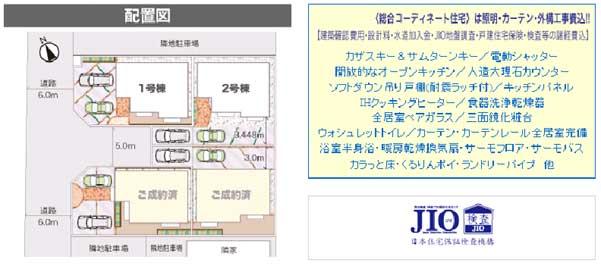 早川3配置図