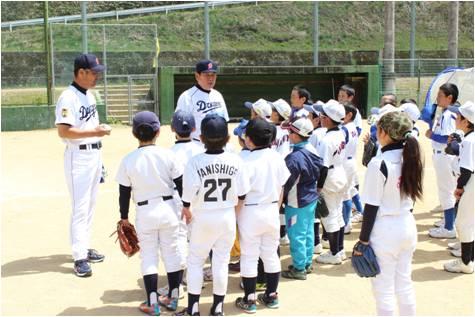 バットの森・野球教室1