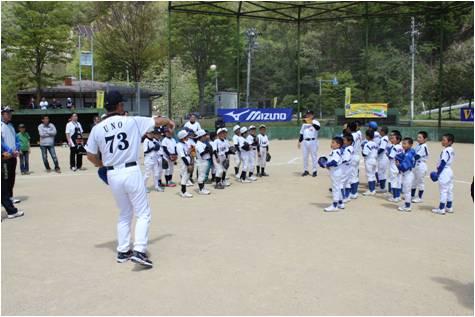 バットの森・野球教室2