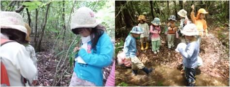 森わら1・女の子の遊び