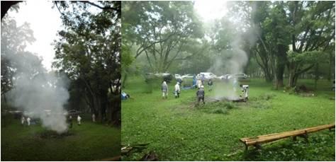 竹文化・消火