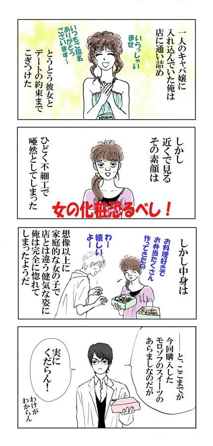 Bread pudding manga