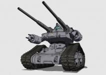 RTX-65 ガンタンク初期型