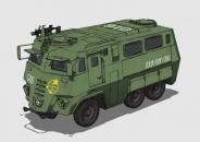 地球連邦製治安維持装甲バス