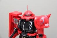 PIXUS限定ガンプラ 1-48スケール メガサイズ モデル シャア専用 ザクII キヤノン PIXUS カスタム3