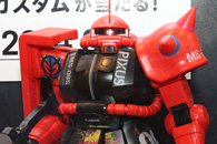 PIXUS 限定ガンプラ 1-48 メガサイズモデル シャア専用ザクII キヤノン PIXUS カスタムdpt