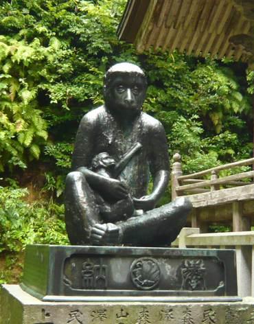山王さん親子のお猿
