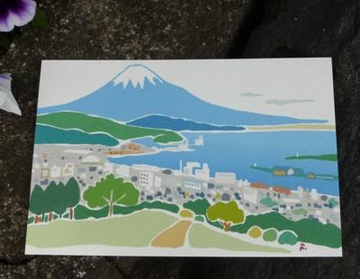 お土産ポスカ富士山