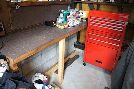 ガレージ棚1
