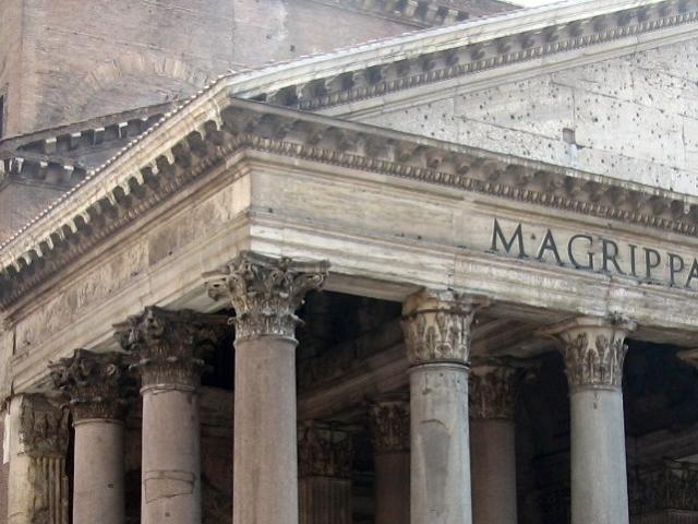 ローマパンテオンの列柱