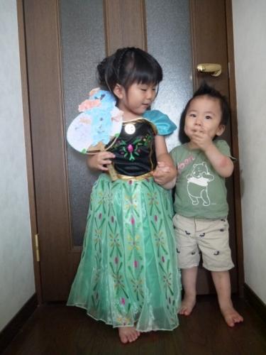 FROZEN アナと雪の女王 なりきり 戴冠式  ハロウィン仮装 衣装 コス 5