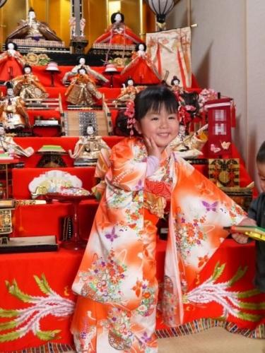 4 ひな人形 雛祭り 雛人形 7段飾り 髪飾り 手作り ハンドメイド