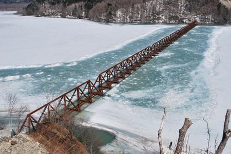 三弦トラス橋1