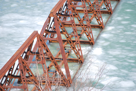 三弦トラス橋2